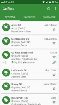GolfBox apk screenshot
