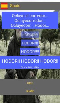 Hold the door Hodor Translated apk screenshot