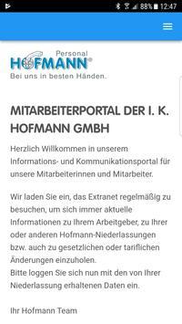Hofmann Mitarbeiter screenshot 2