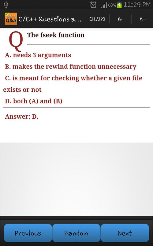 C/C++ Questions and Answers for Android - APK Download