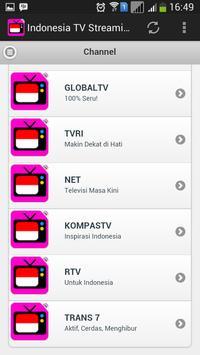 Indonesia TV Streaming screenshot 2