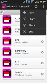 Indonesia TV Streaming screenshot 4