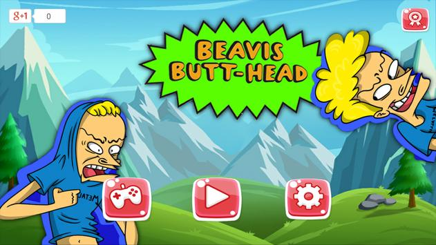 Beavis Adventure Butthead Run poster
