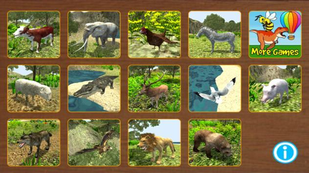 Animal Puzzle 3D screenshot 14