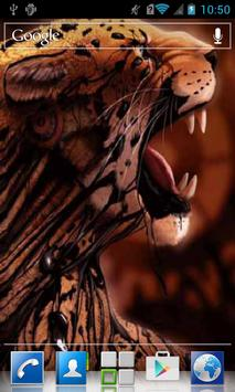 Grin of leopard LWP poster