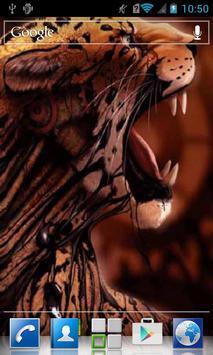 Grin of leopard LWP screenshot 1