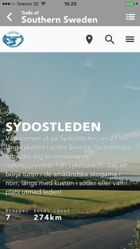 Trails of Southern Sweden poster