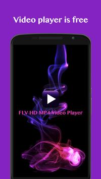 FLV HD MP4 Video Player poster