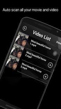 HD FLV MP4 Video Player apk screenshot