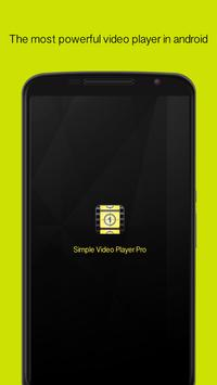 Simple Video Player Pro poster