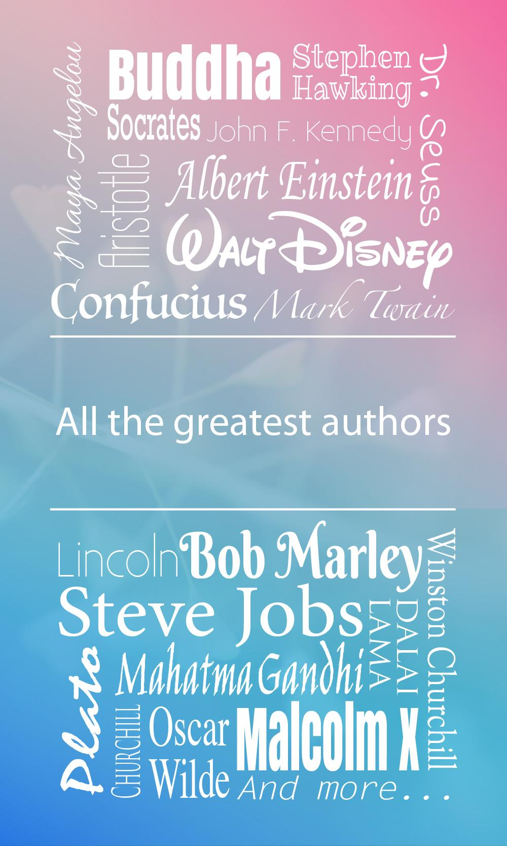 I love quotes poster