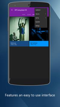 MP3 song player HD poster