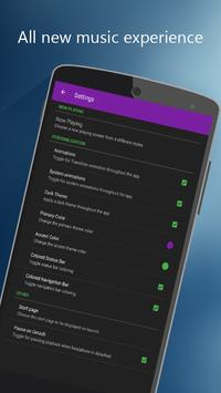 MP3 song player HD screenshot 2