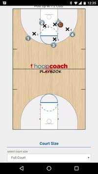 Hoop Coach Basketball Playbook poster