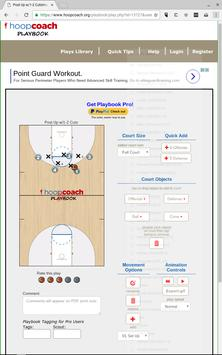 Hoop Coach Basketball Playbook apk screenshot