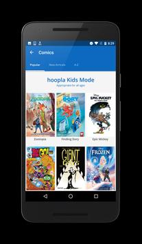 Hoopla Digital apk screenshot