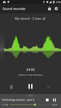 Recordr - Smart & Powerful Sound Recorder Pro poster