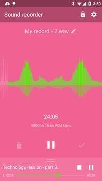 Recordr - Smart & Powerful Sound Recorder Pro apk screenshot