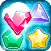 Frozen Jewels Mania - Match 3 Gems Puzzle Legend icon