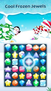 Frozen Jewels Mania - Match 3 Gems Puzzle Legend poster