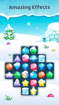 Frozen Jewels Mania - Match 3 Gems Puzzle Legend screenshot 1