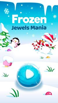Frozen Jewels Mania - Match 3 Gems Puzzle Legend screenshot 2