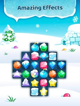 Frozen Jewels Mania - Match 3 Gems Puzzle Legend screenshot 4