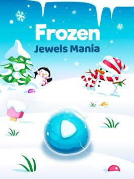 Frozen Jewels Mania - Match 3 Gems Puzzle Legend screenshot 5