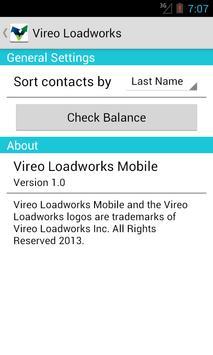 Vireo Loadworks screenshot 5