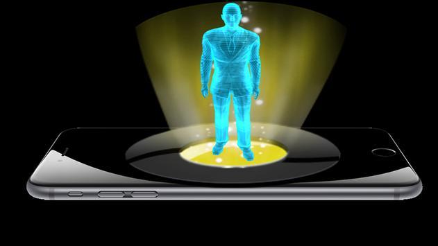 Hologram Vision  Prank screenshot 1