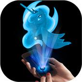 Hologram luna Pony Pocket icon