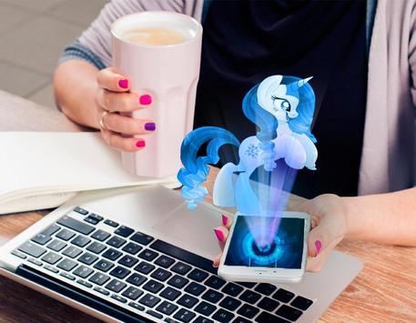 Hologram luna Pony Pocket screenshot 2