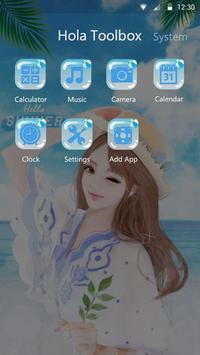 Hello, Summer! - Hola Theme apk screenshot
