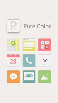 Pure Color Hola Launcher Theme poster