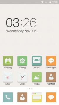 Pure Color Hola Launcher Theme apk screenshot