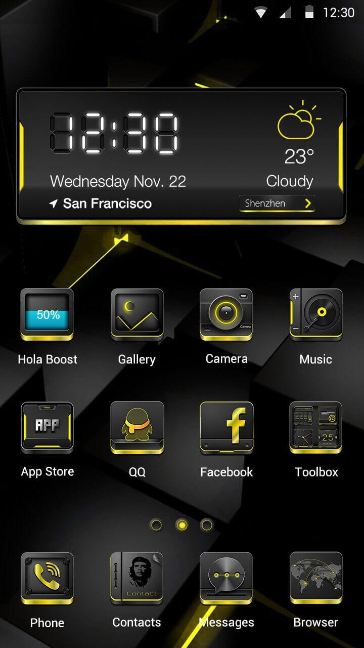Black and Gold for Android - APK Download