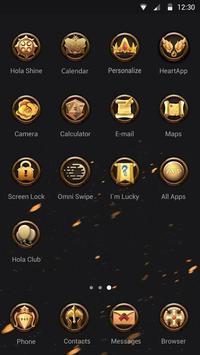 Greek Divinity Hola Theme apk screenshot