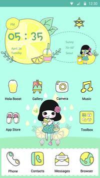 Lemonade - Hola Theme poster