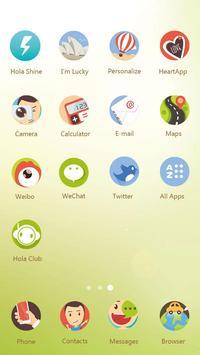 The Traveler Hola Theme apk screenshot