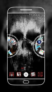 The Horror Night Launcher Theme apk screenshot