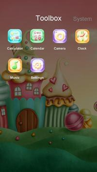 Cupcake Castle Best theme apk screenshot