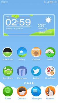 Picnic Hola Launcher Theme poster