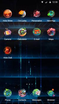 Space-noids Hola Theme apk screenshot