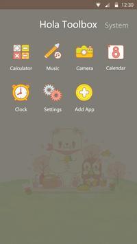 Arctic Spring Hola Theme apk screenshot