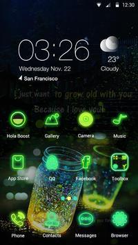 Glowing Wonder - Hola Theme poster