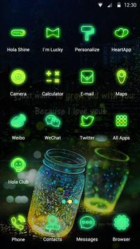 Glowing Wonder - Hola Theme apk screenshot