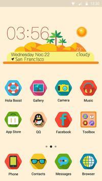Summer Tan - Hola Theme poster