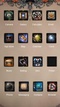 Knight Legend Hola Theme apk screenshot