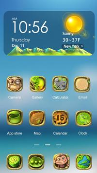 Green Planet Hola Theme apk screenshot