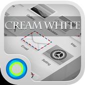 Cream White icon